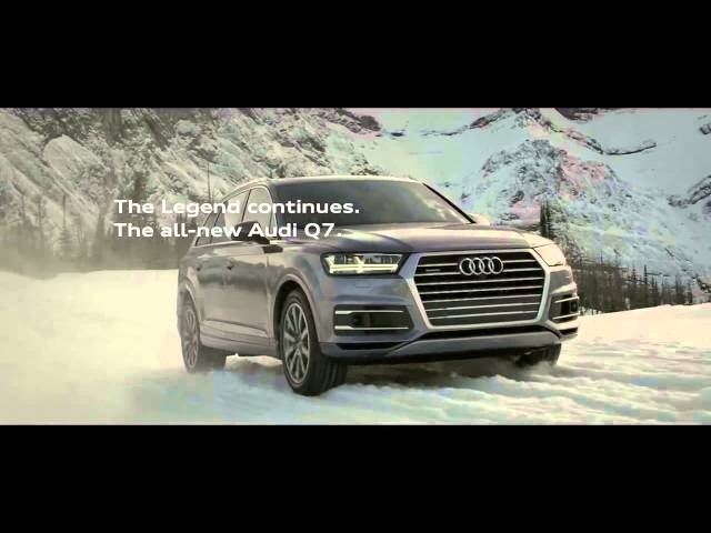 pub 2016 audi q7 commercial the legend musique de pub. Black Bedroom Furniture Sets. Home Design Ideas
