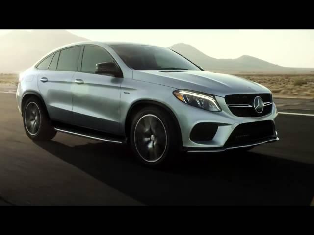 Pub 2016 Mercedes GLE Coupe Commercial Crisscross
