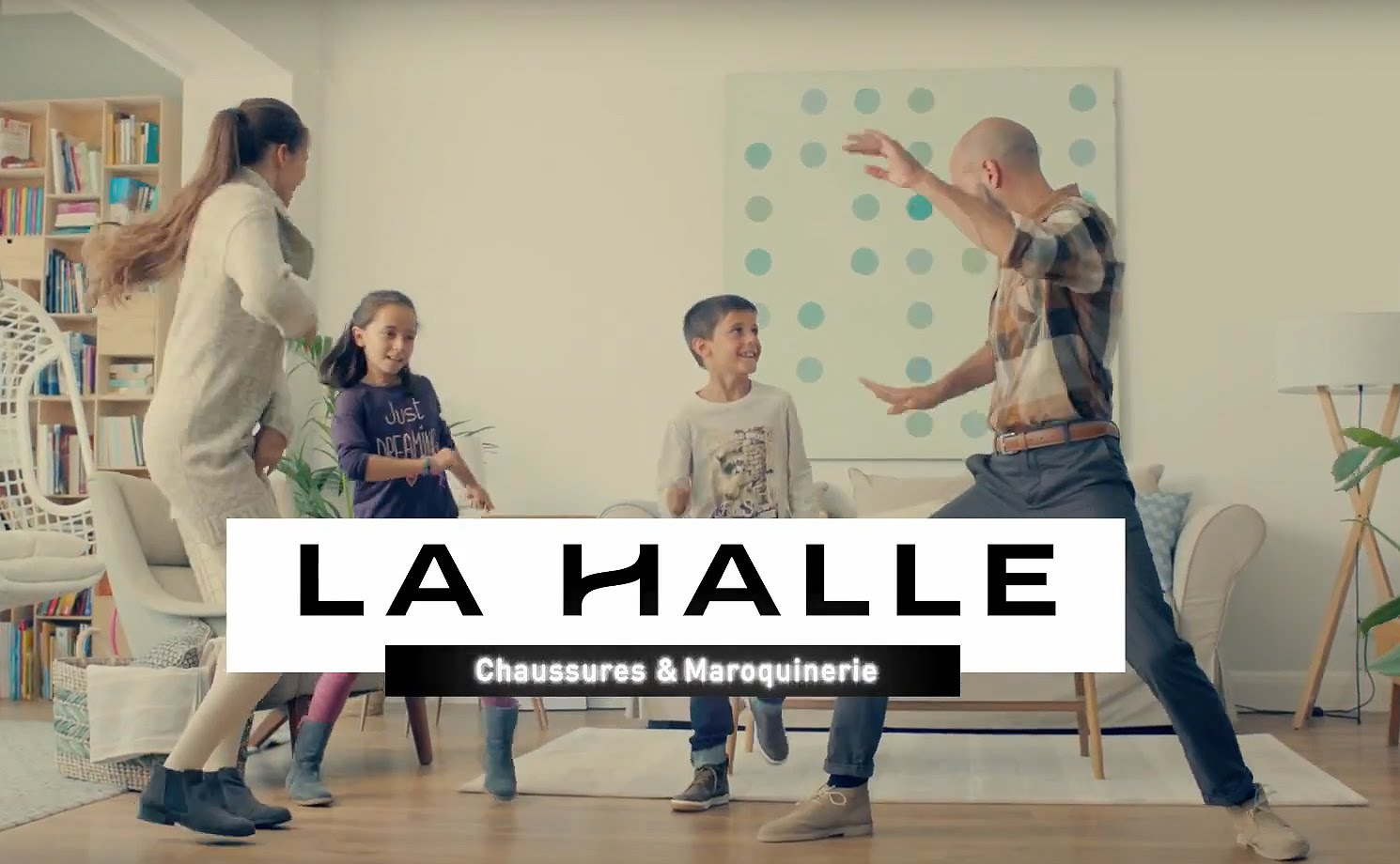 Pub La Halle Chaussures – Octobre 2015