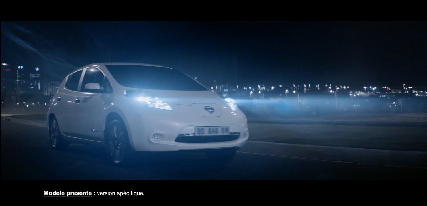 Pub Nissan LEAF – Octobre 2015