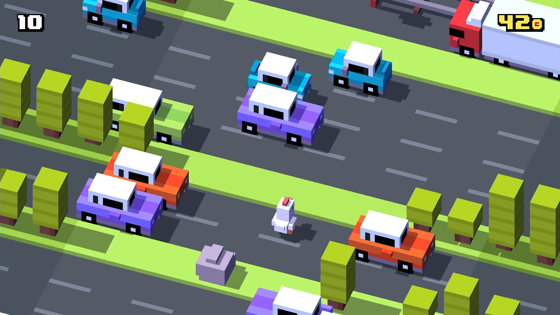Pub de Apple Tv – Crossy Road