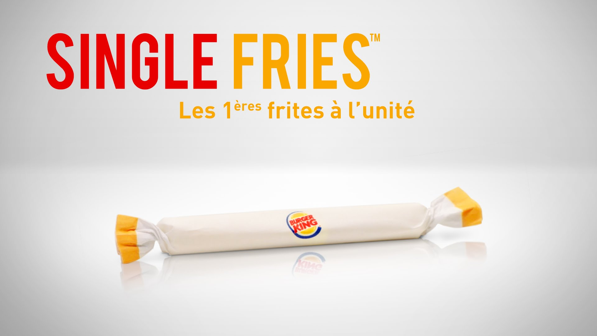 Pub de Burger King – La frite – Avril 2016